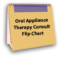 Oral Appliance Therapy Consult Flip Chart